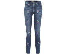 Mid-Rise Skinny Jeans Roxanne