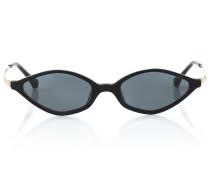 x Linda Farrow Cat-Eye-Sonnenbrille 3 C1