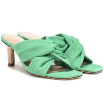 Sandalen Bellagio aus Veloursleder