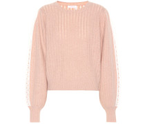 Pullover aus einem Wollgemisch