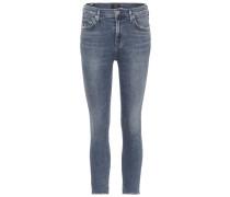High-Waist Skinny-Jeans Rocket
