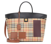 Karierter Shopper Society Medium