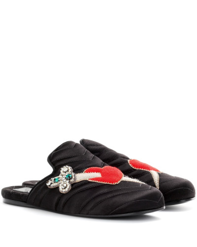 Verzierte Slippers