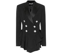 Verzierte Jacke aus Wolle