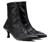 x Alessandro Dell'Acqua – Ankle Boots Gomma aus Leder
