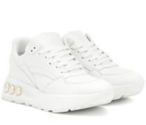 Sneakers NKP3 aus Leder