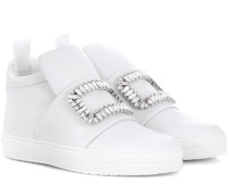 High-Top-Sneakers Sneaky Viv' aus Leder