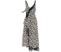 Kleid Bronte aus Seide mit Spitze