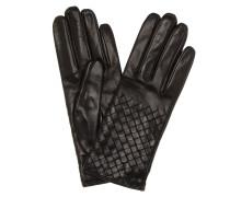 Handschuhe aus Intrecciato-Leder