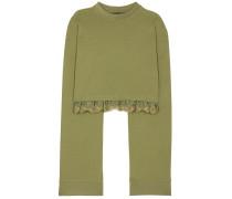 Cropped-Sweatshirt aus Jersey
