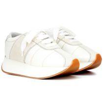Sneakers Big Foot mit Veloursleder