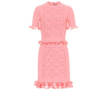 Minikleid aus Jacquard-Strick