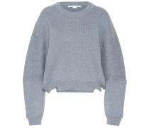 Sweatshirt aus einem Wollgemisch