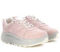 Sneakers Jet Combo aus Veloursleder