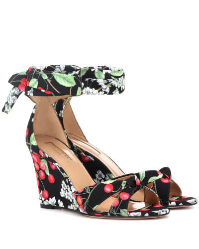 Bedruckte Wedges All Tied Up