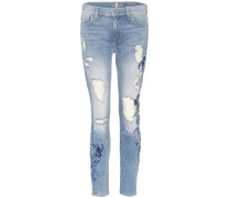 Distressed Jeans The Ankle Skinny