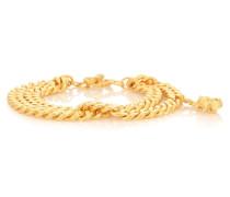 Vergoldetes Armband Ruby