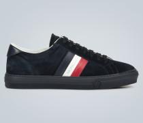 Veloursleder-Sneakers New Monaco