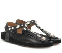Sandalen Enavy aus Leder