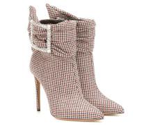 Karierte Ankle Boots Yasmin