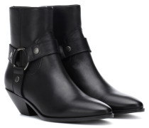 Ankle Boots West Harness aus Leder