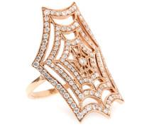 Ring Spider Spirit aus 18kt Roségold mit Diamanten