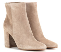 Ankle Boots Rolling 85 aus Veloursleder
