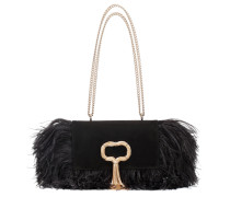 Schultertasche Club Chain Feathers