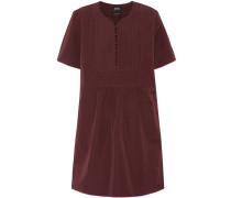 Kleid aus Leinen und Baumwolle