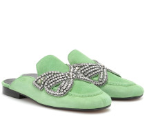 Slippers Foyle aus Veloursleder