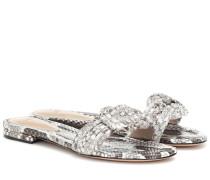 Sandalen Sue aus Schlangenleder