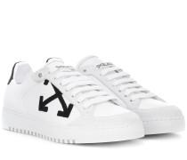 Carryover Sneakers aus Leder
