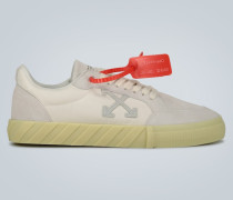 Sneakers Low Vulcanized mit Leder