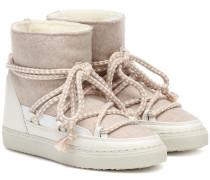 Ankle Boots Sneaker Felt