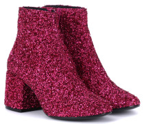 Ankle Boots mit Glitter