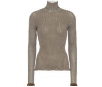 Pullover aus einem Seidengemisch