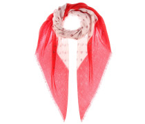 Bedruckter Schal aus Cashmere und Seide