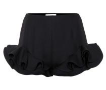 Shorts mit Volant-Details