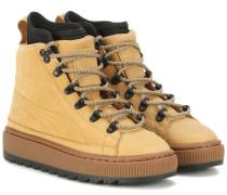 Boots The Ren aus Leder