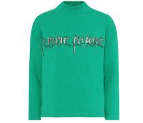Sweatshirt aus Stretch-Baumwolle
