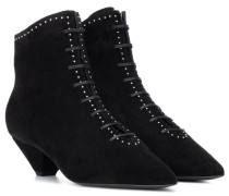 Ankle Boots Kate 45 aus Veloursleder