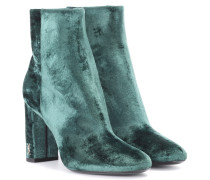 Ankle Boots Loulou 95 aus Samt