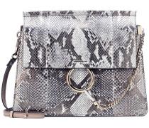 Tasche Faye aus Schlangenleder