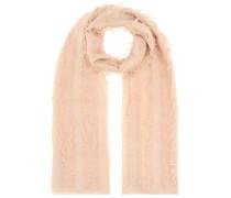 Schal aus Wolle und Seide