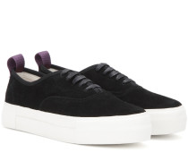 Sneakers Mother aus Veloursleder