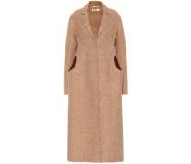 Langer Mantel aus Wolle