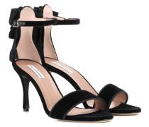 Sandalen Frances aus Samt