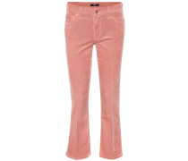 Flared Jeans aus Cord