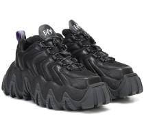 Sneakers Halo mit Leder