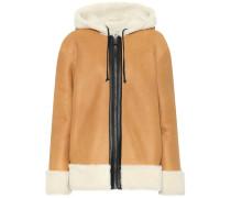 Wendbare Jacke aus Leder